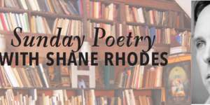 Sunday Poetry by Shane Rhodes