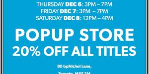 The 2018 holiday pop-up shop is here!