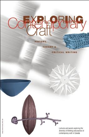 Exploring Contemporary Craft - History, Theory and Critical Writing